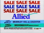 Allied AS TVC 1986 - Sale