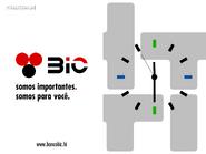 HTI - BIC clock 1996