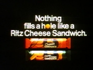 Ritz Cheese Sandwich AS TVC 1985