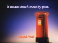 Royal Mail AS TVC 1986