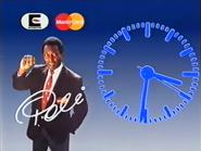 TN1 clock - MottaCard, MasterCard and Eurdecard - 1993