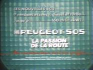 Peugeot 505 RLN TVC 1984