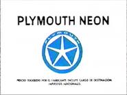 Plymouth Neon URA Spanish TVC 1994