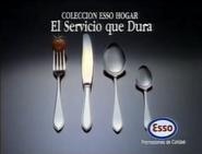 Comercial esso hogar 1990