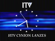 HTV clock 1989 - Cynion Lanzes version