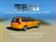 Seat Cordoba Vario RL TVC 1998