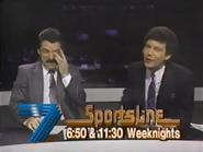 Seven Sportsline promo 1989