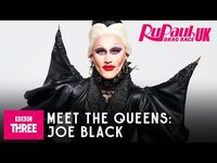 Meet Joe Black - RuPaul's Drag Race UK Series 2