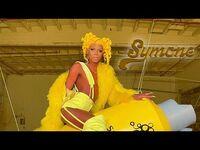S13 E8 Symone's Yellow Gorgeous Runway BTS