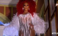 RuPaul as Ruby Red AJ and The Queen Promo