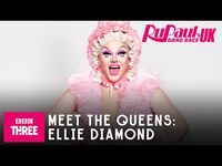 Meet Ellie Diamond - RuPaul's Drag Race UK Series 2