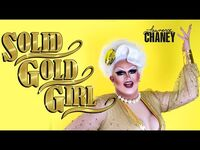 LAWRENCE CHANEY - Who Wore It Best? Solid Gold Girl GRWM Makeup Video - RuPauls Drag Race UK S02E03