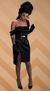 Aja Diva Look