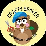 Crafty Beaver Badge CW