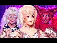 All of Rosé's Runway Looks Rupauls Drag Race