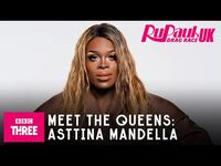 Meet Asttina Mandella - RuPaul's Drag Race UK Series 2