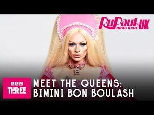 Meet Bimini Bon Boulash - RuPaul's Drag Race UK Series 2