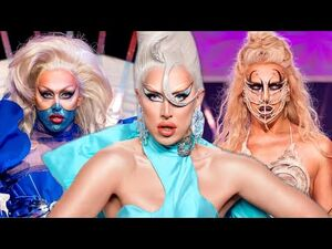 All of A'Whora's Runway Looks Drag Race UK