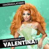 Valentina Ms C Congratulations
