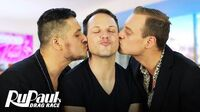 Derrick Barry's Loving That Throuple Life! Bonus Clip