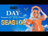 LAWRENCE CHANEY - Day At The Seaside GRWM Makeup Video - RuPauls Drag Race UK S02E05