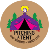 Pitching a Tent Badge CW