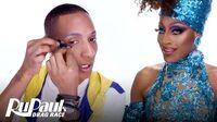Jaida Essence Hall's Entrance Look Makeup Tutorial RuPaul's Drag Race S12