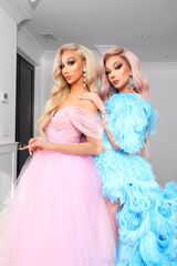 Plastique and James Charles (Diamond Tiara)