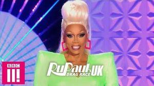 Look At RuPaul's First UK Runway