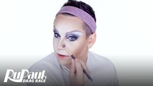 Jan's Lady Baller Look Makeup Tutorial RuPaul's Drag Race