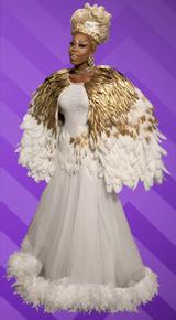 Monique Feather Look