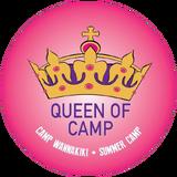 Queen of Camp Badge CW