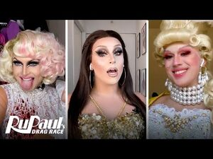 Jan, Cheryl & Lemon's Three-Way Diva Makeup Tutorial - RuPaul's Drag Race