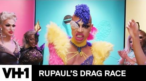 The S11 Queens Strike a Pose on the Runway w Aquaria