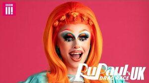 Blue Hydrangea Meet The Queens Drag Race UK (Season One)
