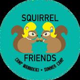 Squirrel Friends Badge CW