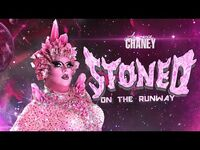 LAWRENCE CHANEY - Stoned On The Runway GRWM Makeup Video - RuPauls Drag Race UK S02E08