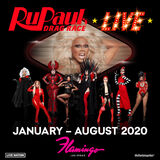 RuPaul's Drag Race Live Promo Post
