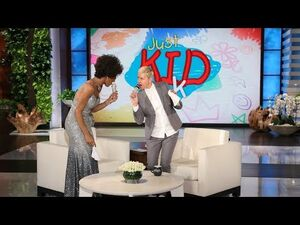 Ellen Belts Out Whitney Houston with Trinity K Bonet