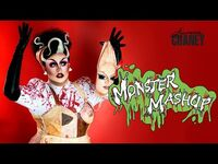 LAWRENCE CHANEY - Monster Mash Up GRWM Makeup Video - RuPauls Drag Race UK S02E04