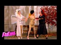 """Poo"" with Pearl, Violet Chachki and Miss Fame"