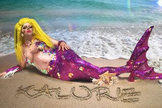 Kalorie Mermaid Fantasy Look