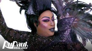 Widow Von'Du's Entrance Look Makeup Tutorial RuPaul's Drag Race