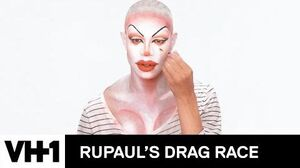 Yvie Oddly's 'Orange Alert' Makeup Tutorial