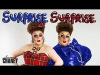 LAWRENCE CHANEY - SURPR!SE SURPR!SE GRWM Makeup Video - RuPauls Drag Race UK S02E02