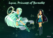 Lyna princess of Borealis