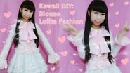 DIY How to Make a Blouse for Beginners - Sweet Lolita Fashion