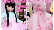 Kawaii DIY - How to Sew Princess Lolita Hime Dress - adorable and easy
