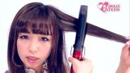 Kawaii CURLY & FLUFFY HAIRSTYLE TUTORIAL How-to by Japanese fashion model 皆方由衣ロリータヘアアレンジ