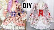 DIY European Historic Rococo Inspired Dress Gorgeous & Elegant & Fancy Dress